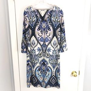 Chico's 'Paisley V-Neck Dress'